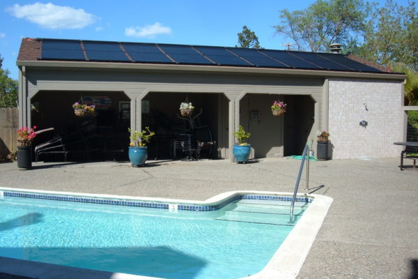 commercial solar pool heating, Novato