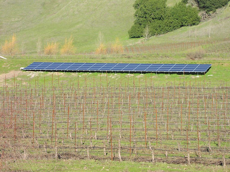 ground mount solar panels Sonoma