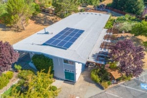 sleepy hollow church san anselmo solar power install solarcraft