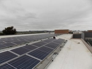 SolarCraft - Solar Panel install at Petaluma public storage
